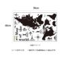 モノクロ世界地図AY9133